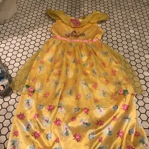 Princess Belle Nightgown! Size 3